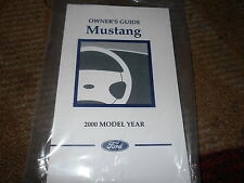 2000 FORD MUSTANG GT COBRA ALL NEW CORRECT FACTORY OWNERS OPERATORS MANUAL NICE!