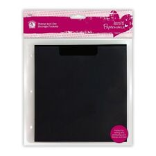 PAPERMANIA STAMP AND DIE STORAGE POCKETS PACK OF 10 WITH MAGNETIC SHEETS - NEW