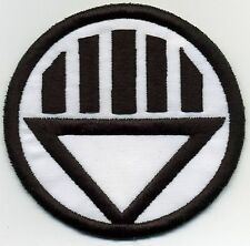 "2.5"" Black Lantern Corps Classic Style Embroidered Iron-On Patch"