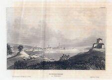 GOTHENBURG in Schweden-StSt. um 1840 BIH-10,0x16,0 cm