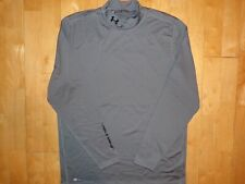 Under Armour Mens Cold Gear Long Sleeve Fitted Base Layer Xl Mock Shirt Golf 1