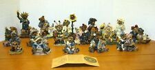 Boyds Bears and Friends  Figurine Large Lot ( 16 Different) 1993 -- 1999 NICE!!!