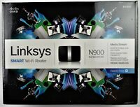 Linksys N900 Dual-Band Smart Wireless Wi-Fi Router EA4500 450+450 Mbps