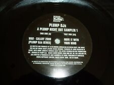 "PLUMP DJs - A Plump Night Out Sampler 1 - 2000 UK 2-track 12"" Vinyl Single"