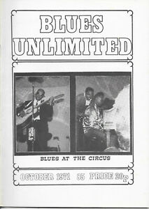 BLUES UNLIMITED : No.85 : October 1971 : Homesick James & B B King