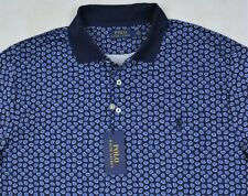Polo Ralph Lauren Shirt Soft Touch Navy Paisley Polo Size XXL NWT $99