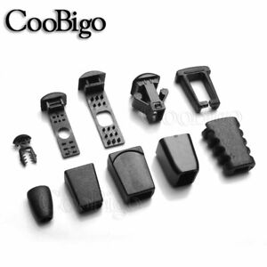 Cord Locks Ends Zipper Pull Cord Rope Paracord Backpack Strap Parts Accessories