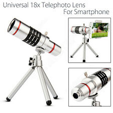 18x Zoom Camera Telephoto Telescope Lens W/ Tripod For iPhone Samsung X1