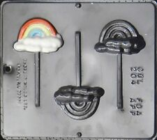 Rainbow Lollipop Chocolate Candy Mold  204 NEW