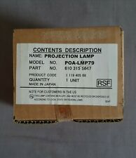 Projection Lamp - Model No POA-LMP79 - Part No 610 315 5647 - For Sanyo PLC-XU41