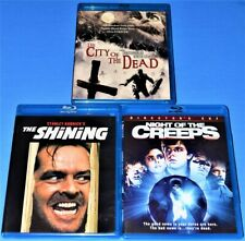 The City Of The Dead The Shinning Night Of The Creeps Cult Horror Blu Ray Lot