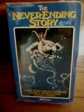 THE NEVER ENDING STORY Rare Roadshow Clamshell 1984 VHS Video