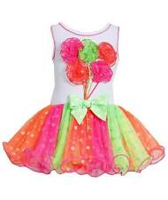 New Girls Bonnie Jean sz 2T Pink Balloons Dress Clothes Summer Birthday Party