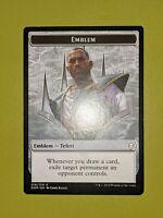 Teferi, Hero of Dominaria Emblem Token x1 Dominaria 1x Magic the Gathering MTG