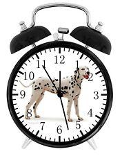 Dalmatian dog Alarm Desk Clock Home or Office Decor F73 Nice Gift