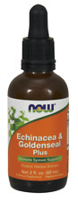 Echinacea & Goldenseal Plus 2 oz by NOW Foods Factory Fresh *Free Shipping*