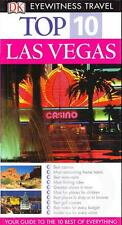 LAS VEGAS USA - EYEWITNESS TOP 10 TRAVEL GUIDES EXCELLENT USED PAPERBACK