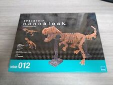 Nanoblock T-Rex Skeleton Micro-Sized Building Blocks by Kawada NBM012 NEW/SEALED