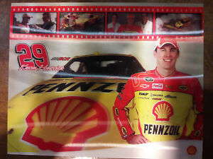 2010 KEVIN HARVICK #29 PHOTO HOLOGRAM CARD SHELL PENNZOIL 00070