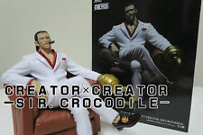 ONE PIECE CREATOR X CREATOR SIR.CROCODILE FIGURE B WHITE COLOR BANPRESTO 2016