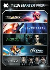 Dc Comics Mega Starter Pack DVD Collection( Arrow, Flash, Gotham, Supergirl) New