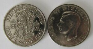 1937-1952 | George VI Half Crown | Choose Your Year | Free Postage + Discounts