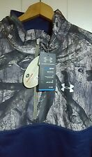 Under Armour Hunting Mossy Oak Camo 1/2 Pullover Jacket: Large (NWT) 1259217-408