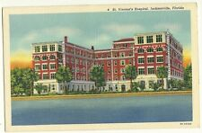 St Vincent's Hospital Jacksonville Florida FL Postcard