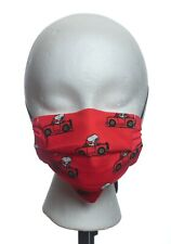 PREMIUM Washable Snoopy Fabric - 3 Layer - Filter - USA - Face Mask