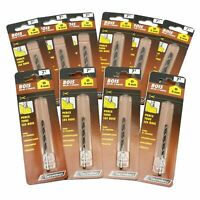 10 Pezzi Carrefour 4,5 & 6mm Super Sharp Brad Point Legno Trapano Punte. Tedesco