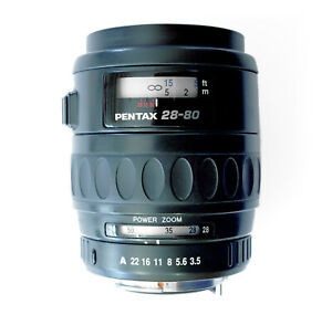 SMC Pentax-FA 28-80mm F3.5-4.7 Zoom Lens Made in Japan Power Zoom