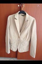 Giacca Sisley Cotone beige - Cotton Jacket Sisley
