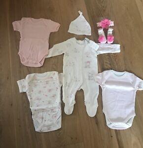 #1 Baby Girls 0-3 Months Bundle. Brand New.