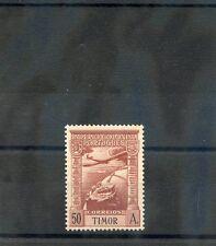 TIMOR Sc C7(SG 276)**F-VF NH 1938 50A RED BROWN AIR POST $38
