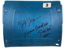 Hulk Hogan Signed Authentic Autograph Silverdome Seatback RARE Inscription JSA