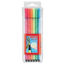 STABILO Fasermaler Pen 68 6er Kunststoff-etui Neonfarben