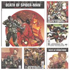 °ULTIMATE AVENGERS DEATH OF SPIDER-MAN #1 - 6° US Marvel 2011 Kpl Miniserie