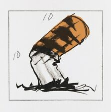 CLAES OLDENBURG 'Butt for Gantt', 1990 SIGNED Lithograph w/ Embossing Print NEW!