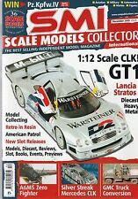 Scale Models Collector Dec 2005 Mercedes Benz CLK - A6M5 Zero - Lancia Stratos