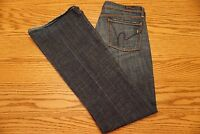 WOMEN'S CITIZENS OF HUMANITY JEANS Size 28 Ingrid #002 Low Waist Flair Stretch
