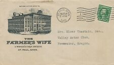 1915 The Farmer's Wife Farm Journal Envelope Only Freewater, OR