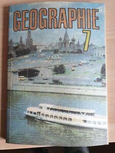 Geographie Klasse  7 , Schulbuch  DDR