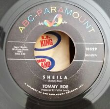 "Tommy Roe ABC-Paramount 10329 ""SHEILA"" (GREAT ROCKABILLY) 45 SHIPS FREE"