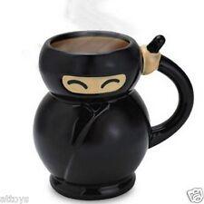 Novelty Ceramic Mug Coffee Cup - Fat Ninja Japanese Martial Arts
