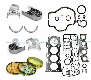NEW 01-06 TOYOTA CAMRY SOLARA 2AZFE 2.4L FULL SET *ENGINE RE-RING KIT*