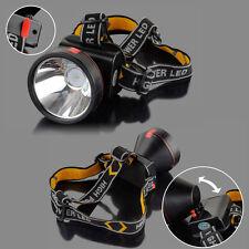 Rechargeable 30000 Lumens Headband LED Light Headlight Headlamp Head Torch US-T