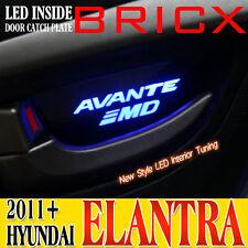 LED INTERIOR CAR DOOR HANDLE SIDE TRIM(4p) FOR 2011+ Hyundai ELANTRA (Avante MD)