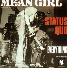 ★☆★ CD SINGLE STATUS QUO	Mean Girl 2-track CARD SLEEVE   ★☆★
