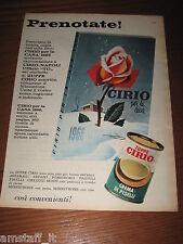 *135=CIRIO=ANNI '60=PUBBLICITA'=ADVERTISING=WERBUNG=PUBLICITE=