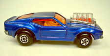 "Matchbox Superfast Nr.10B Piston Popper blaumet. rare ""Superfast"" Bodenplatte"